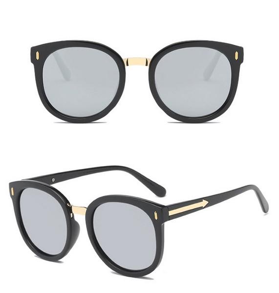 แว่นตากันแดดแฟชั่น Black Mercury กรอบสีดำเลนส์ปรอท