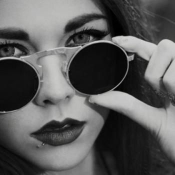 แว่นตาแฟชั่น 2 เลนส์ เลนส์ใสกับเลนส์กันแดด